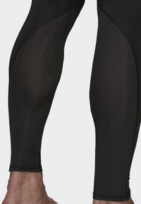 adidas Performance - Alphaskin Sport+ Long 3-Stripes Tights - Leggings - black - 6