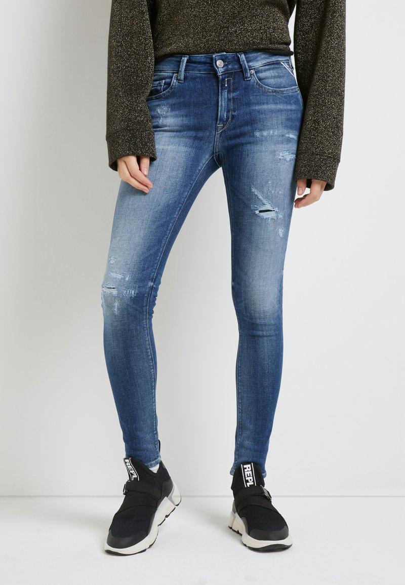 Replay - NEW LUZ - Jeans Skinny Fit - medium blue
