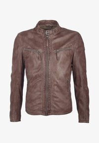 Gipsy - BARNY LAJUV - Leather jacket - dusty brown - 2
