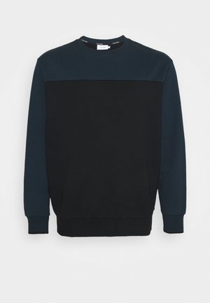 COLOR BLOCK - Sweatshirt - blue