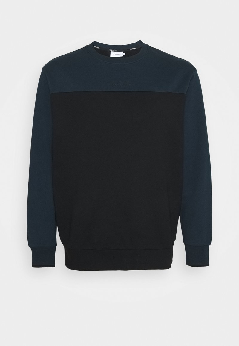 Calvin Klein - COLOR BLOCK - Sweatshirt - blue
