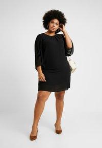Zizzi - EXCLUSIVE EPRETTY DRESS - Korte jurk - black - 2