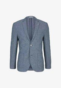TOM TAILOR - Blazer jacket - woven blue melange - 4