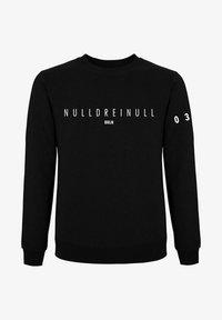PLUSVIERNEUN - BERLIN - Sweatshirt - black - 11