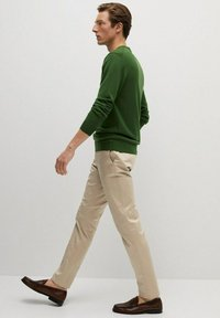 Mango - DUBLIN7 - Trousers - beige - 4