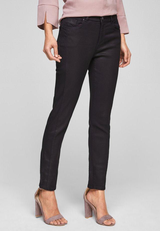 Slim fit jeans - dark plum