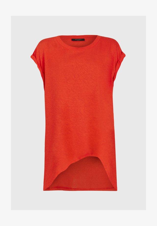 SANZA  - T-shirts print - red