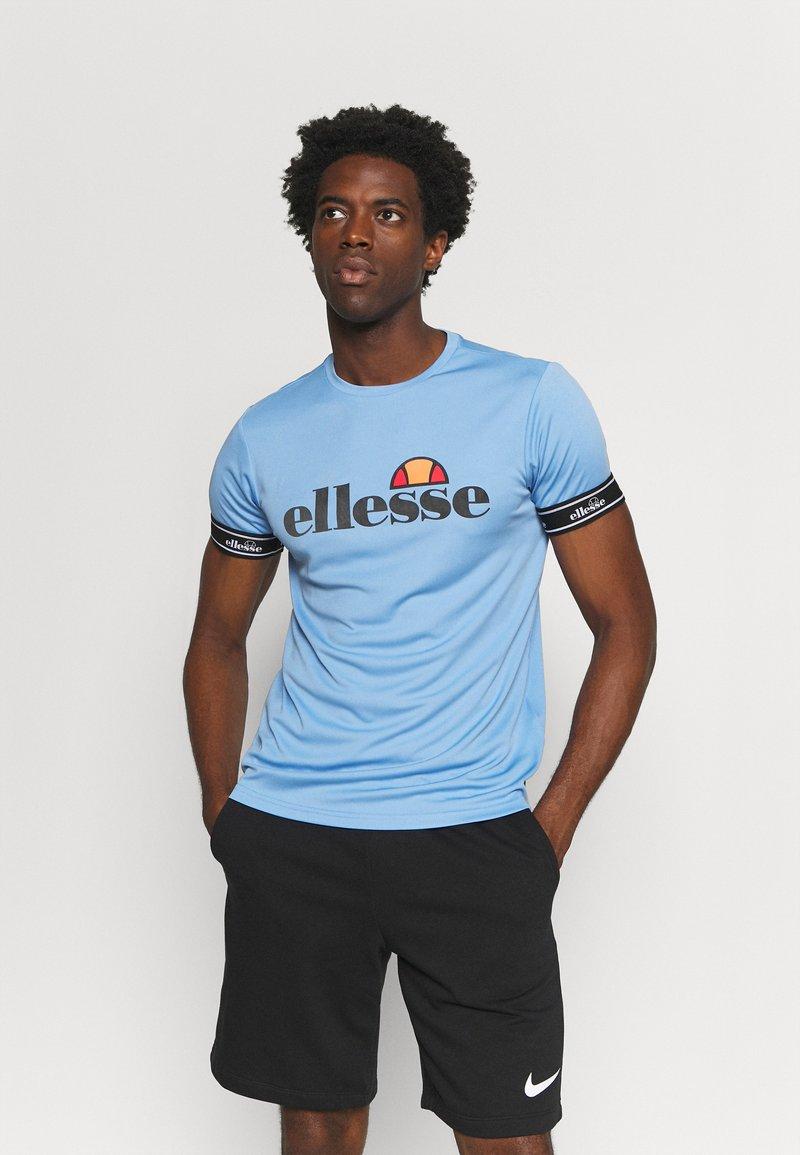 Ellesse - ALENTE - Print T-shirt - light blue