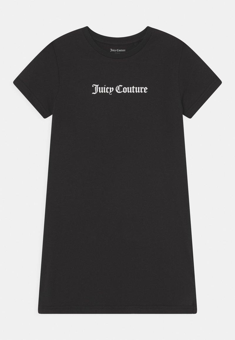 Juicy Couture - TEE DRESS - Žerzejové šaty - black