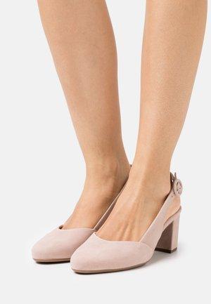 WEDA - Classic heels - mauve
