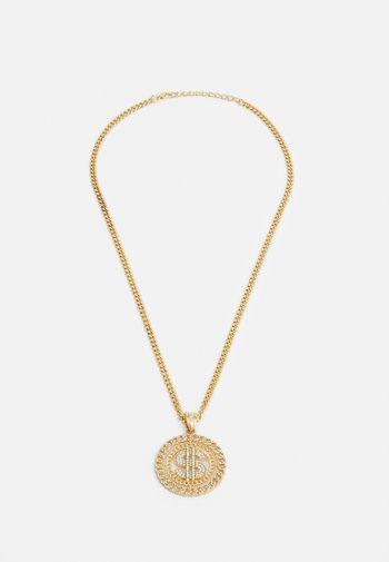 DOLLAR NECKLACE - Kaulakoru - gold-coloured