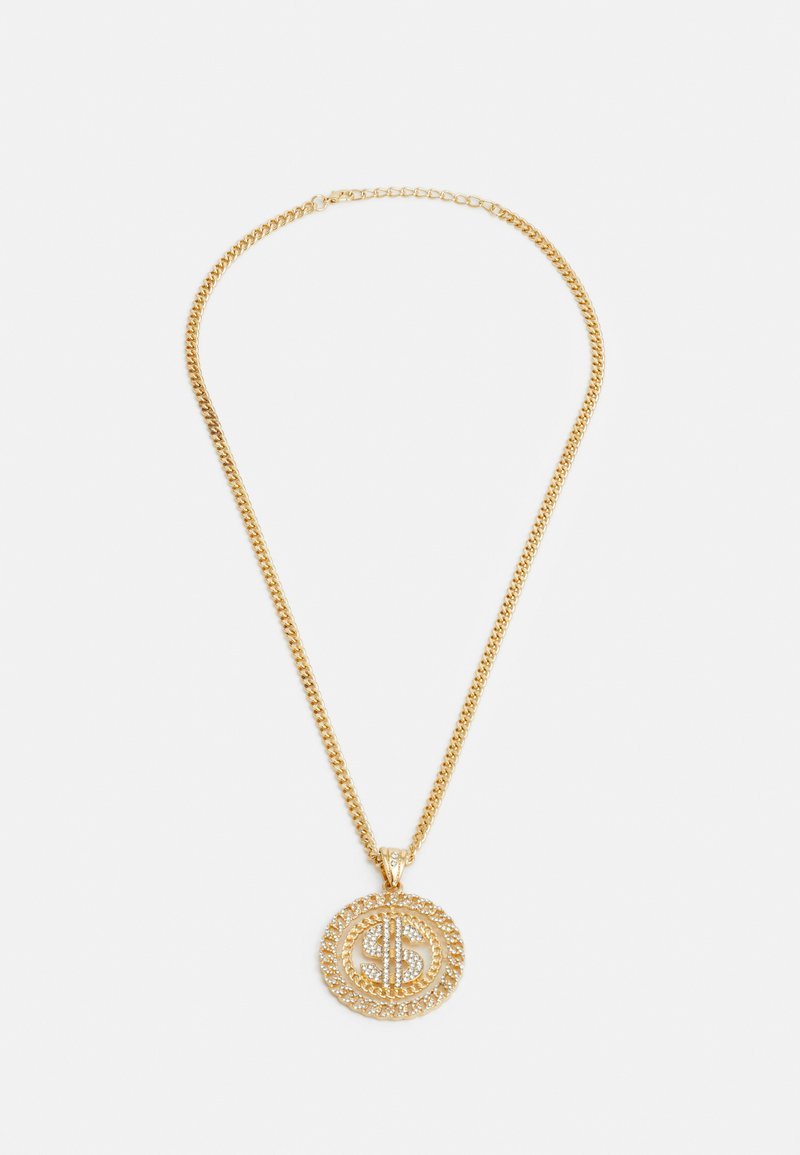 Urban Classics - DOLLAR NECKLACE - Necklace - gold-coloured