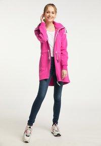 Schmuddelwedda - Mikina na zip - pink - 1