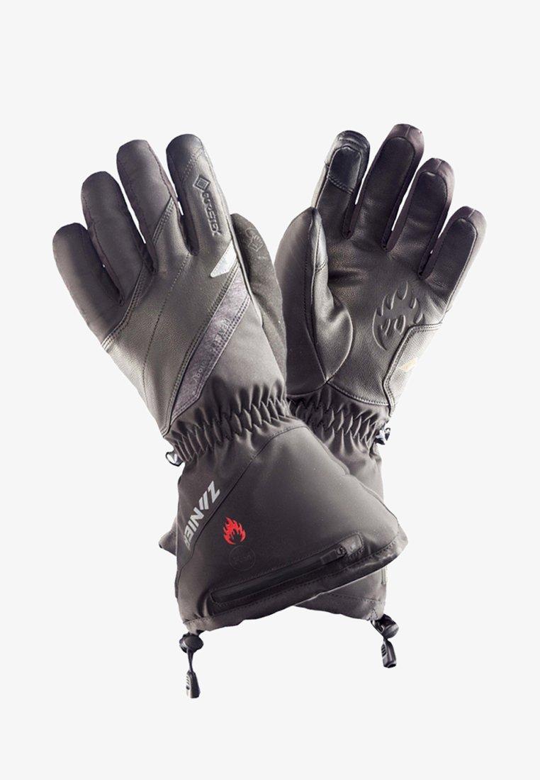 Zanier - BEHEIZTE FLUGSPORTHANDSCHUHE - Gloves - black