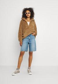 Vero Moda - VMFILLY   - Fleece jumper - brown - 1