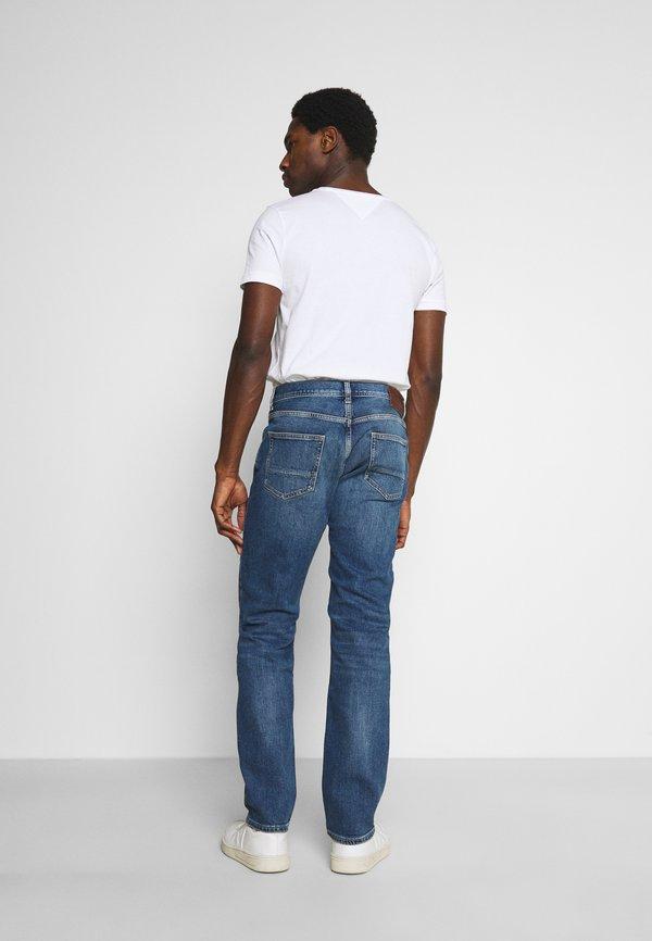 Tommy Hilfiger CORE MERCER REGULAR - Jeansy Straight Leg - boston indigo/niebieski denim Odzież Męska QAYN