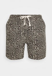 BDG Urban Outfitters - LEOPARD DRAWSTRING - Shorts - brown - 5