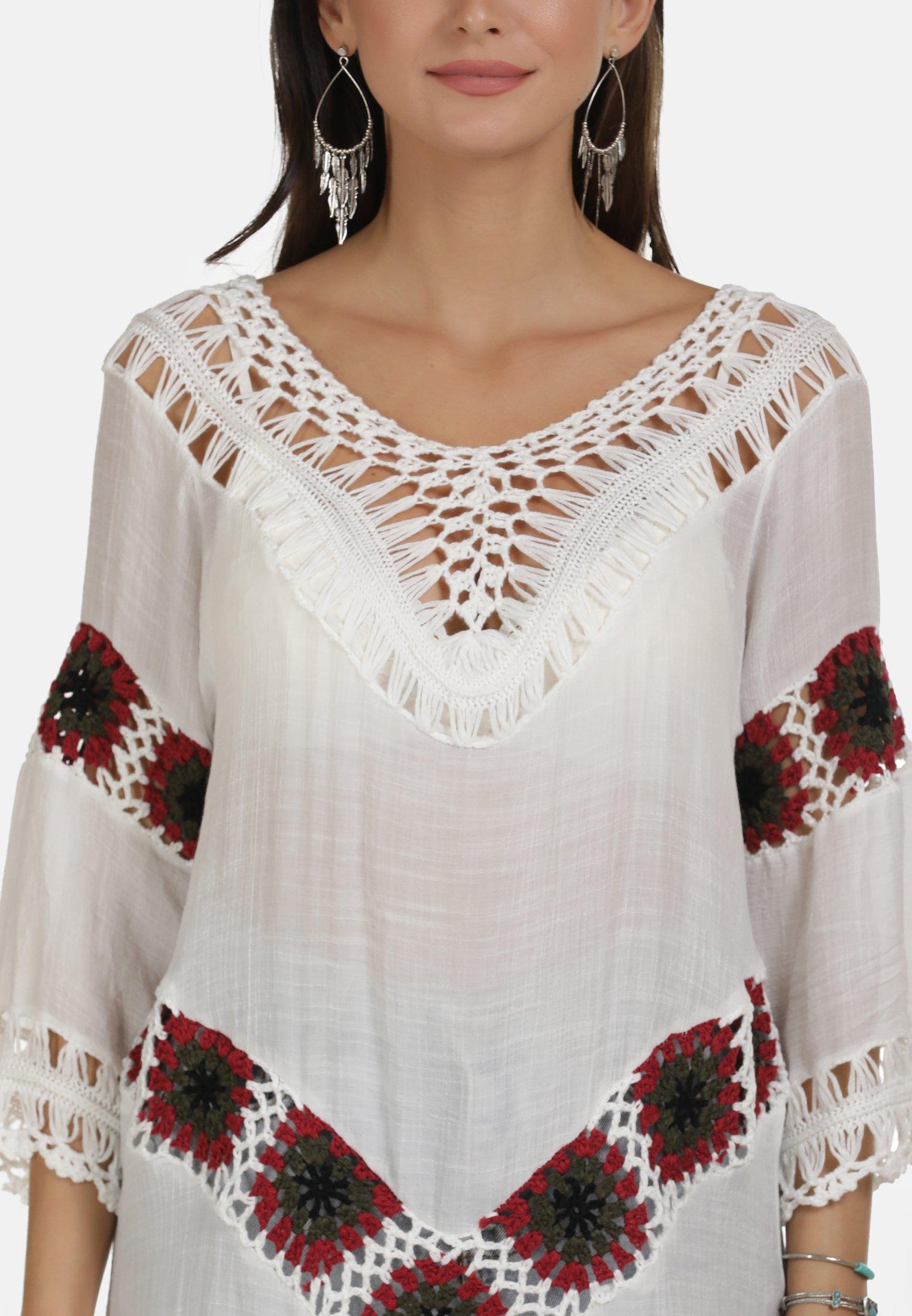 Sale Women's Clothing usha TUNIKA Tunic wollweiss KKi5fYmuK