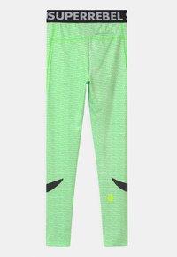 SuperRebel - UNISEX - Punčochy - gecko green - 1