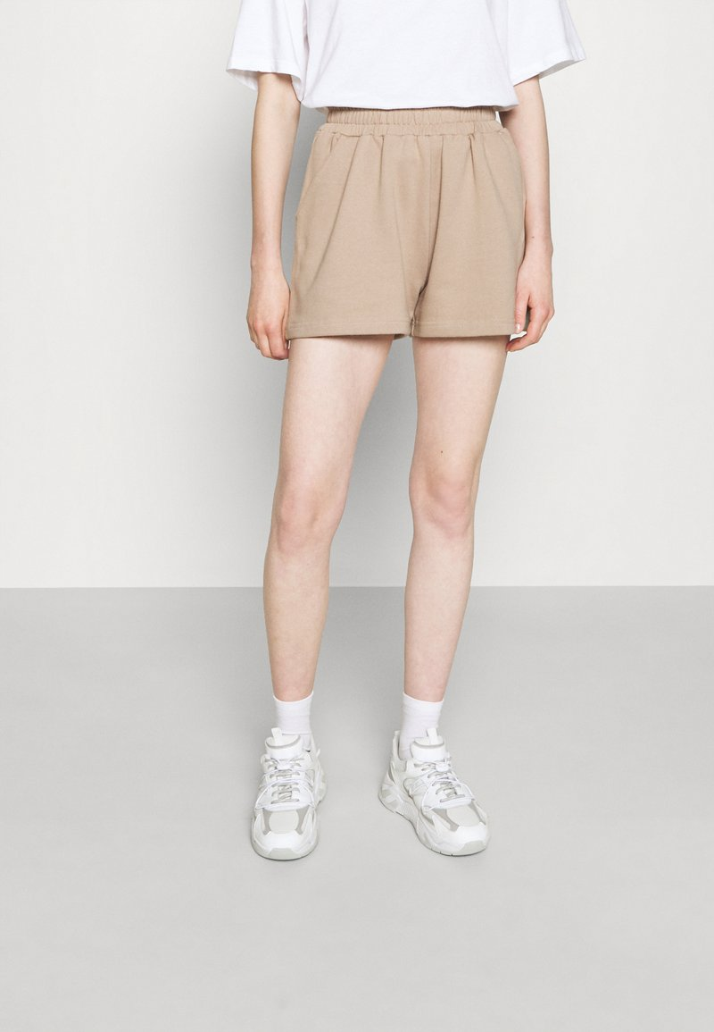 DESIGNERS REMIX - WILLIE EMBROIDERED - Shorts - sand