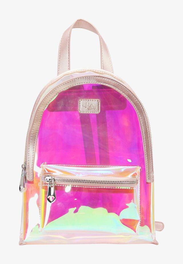 Rucksack - pink holo