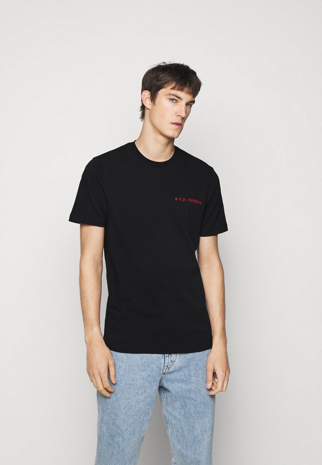 SHORT SLEEVE - T-shirts med print - black