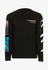 River Island - Long sleeved top - black - 4