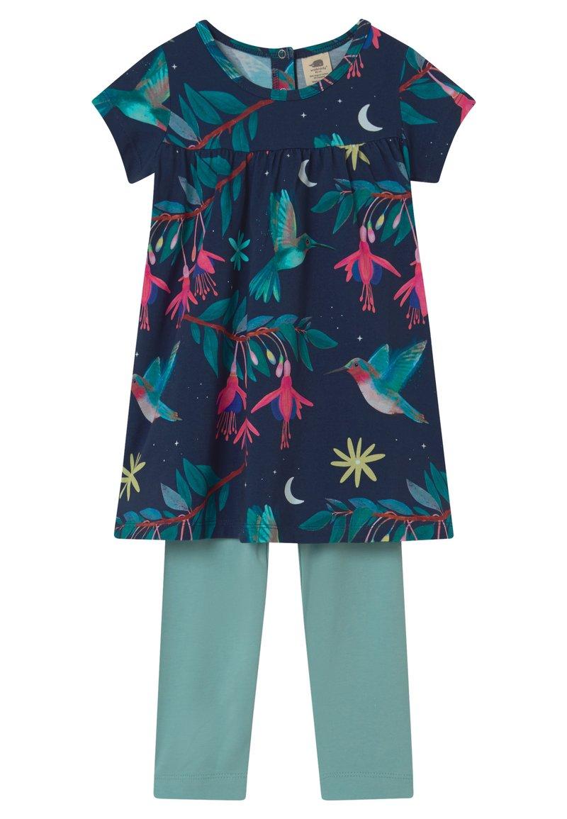 Walkiddy - BABYDOLL HUMMINGBIRDS SET - Leggings - Trousers - multi-coloured