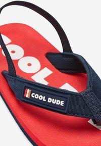 Next - T-bar sandals - red - 3