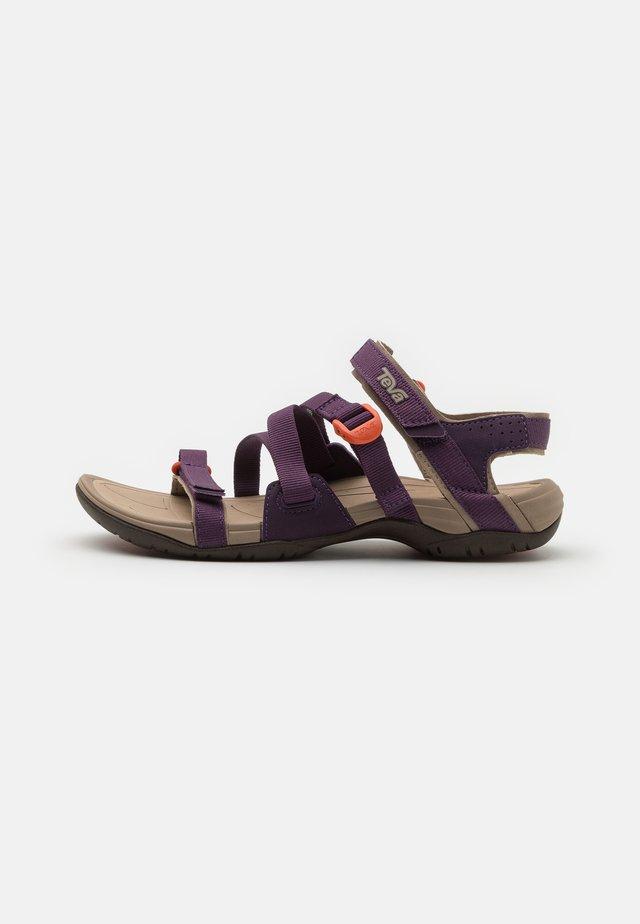 ASCONA SPORT  - Outdoorsandalen - purple pennant