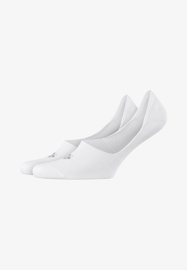 2 PACK - Trainer socks - white (2000)