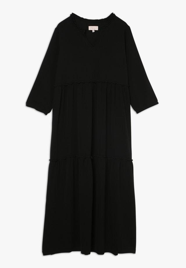 KONCOCO MIDI DRESS - Day dress - black