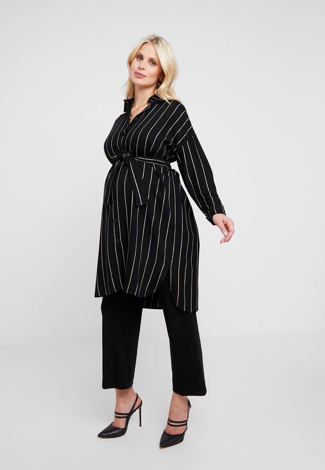 ACRI - Button-down blouse - black
