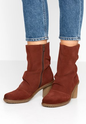 TRIVIA - High heeled ankle boots - caldera