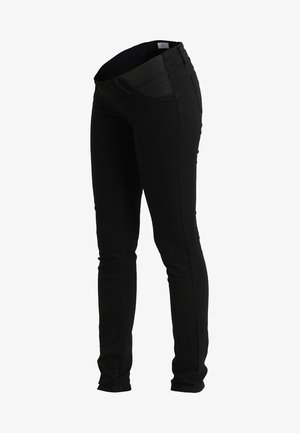 MLLOLA ELASTIC - Slim fit jeans - black denim