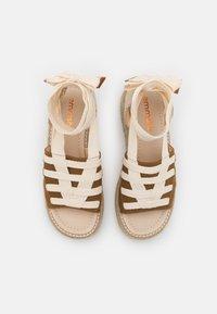 Emmshu - FORTUNE - Korkeakorkoiset sandaalit - brown - 5