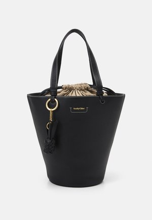 CECILIA Big tote - Handbag - black
