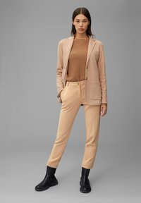 Marc O'Polo - Trousers - soaked sand - 1