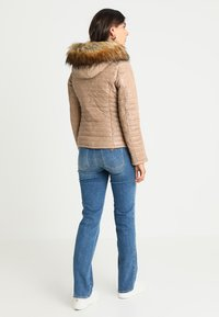 Oakwood - FURY - Leather jacket - dark beige - 2