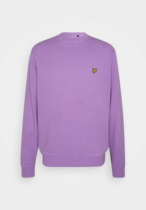 WASHED CREW NECK - Sudadera - amethyst