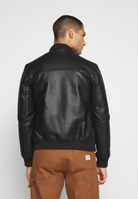 River Island - Faux leather jacket - black - 4