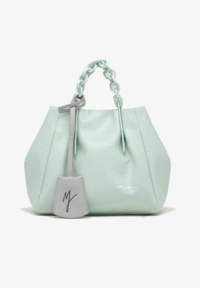 JASMIN  - Shopping bag - verde acqua