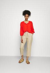 Esprit - BLOUSE - Blouse - orange red - 1