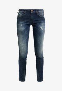 Diesel - SKINZEE LOW ZIP - Jeans Skinny Fit - indigo style exclusive - 3