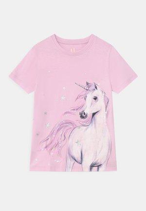 STEVIE EMBELLISHED  - Print T-shirt - lavender fog