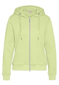Frieda & Freddies - SWEAT JACKET - Zip-up hoodie - lime green - 0
