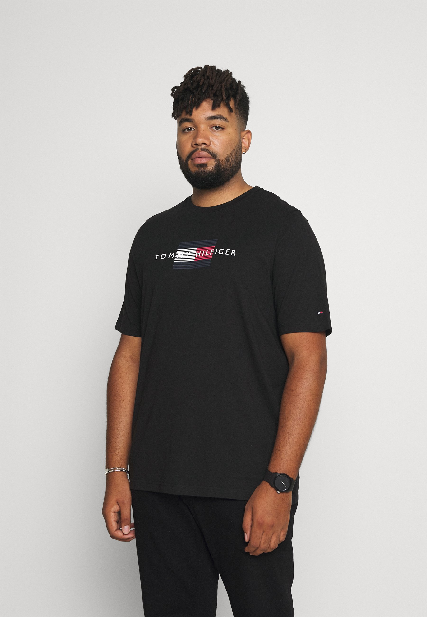Homme LINES TEE - T-shirt imprimé