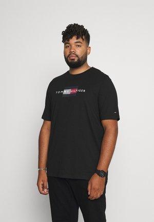 LINES TEE - Camiseta estampada - black
