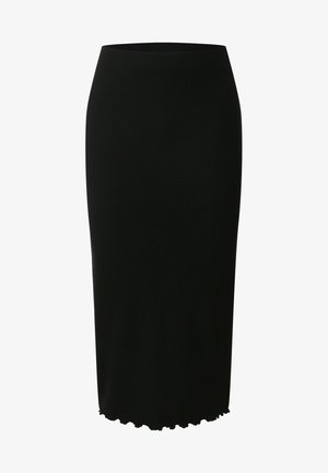 COLETTE - Pencil skirt - schwarz