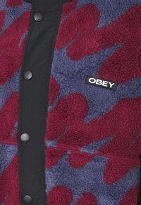Obey Clothing - HENSE SHERPA JACKET - Fleece jacket - purple/multi - 2